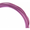 Aluminum Wire 12ga (2.5mm) 30ft Round Fuchsia